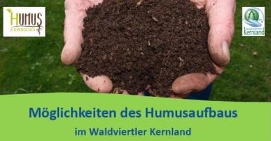 Möglichkeiten des Humusaufbaus im Waldviertler Kernland