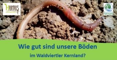 Wie gut sind unsere Böden im Waldviertler Kernland?